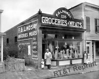 Photograph of  F.G. Lindsay General Store Washington DC  Year 1916  8x10