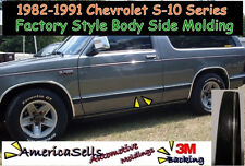 1982-1991 CHEVROLET S10 BLAZER  PICKUP BODY SIDE  MOLDING OEM REPLACEMENT TRIM