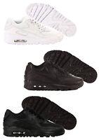 Scarpe Nike Air Max 90 MESH LTR GS Sneakers Uomo Donna Junior Bianco Nero Nuovo