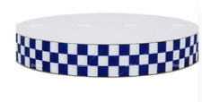 Navy/Blue and White Checkered Ribbon Police