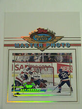 1993 Topps Stadium Club Master Photo Ray Ferraro New York Islanders