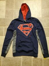 Superman Blue Hoodie Sweatshirt Superman Logo SIZE M   New with TAGS