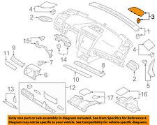 SUBARU OEM Legacy Instrument Panel Dash-Speaker Cover Grille Grill 66117AL04A