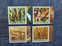 2017 LIECHTENSTEIN CROP PLANTS SET OF 4 MINT STAMPS MNH