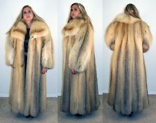 Brand New Golden Island Fox Fur Coat Size 2 Extra Large 2XL 16 18 Efurs4less
