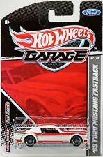 Hot Wheels '65 Ford Mustang Fastback Ford Garage #T8254 New NRFP 2010 White 1:64