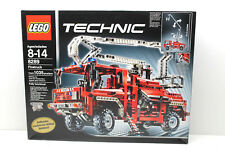 Lego #8289 Technic Red Firetruck Fully Functional 1035 pcs 2006 Set Sealed Box
