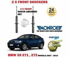 FOR BMW X6 E71 E72 + XDRIVE 2008-2014  2x FRONT SHOCK ABSORBER SHOCKER SET