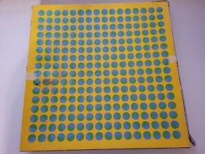 Vintage Springbok Puzzle YELLOW FLASH Edna Andrade For Crafts or Collection