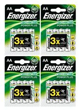 16x Energizer AA Rechargeable Batteries 2000 mAh NiMH Genuine & Boxed