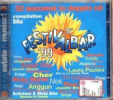 FESTIVALBAR 99 2 CD CHER GIORGIA MANGO ELIO NEK ANNA OXA BLONDIE CORRS GIORGIA