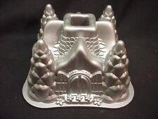 NordicWare FAIRYTALE HOUSE cake pan 3D baking mold CHRISTMAS Fairy Cottage trees