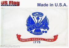 US Flag Factory 2'x3' US Army Flag Outdoor SolarMax Nylon
