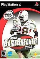 NCAA GameBreaker 2003 Ps2 Playstation 2 Complete Kids Football Sports Game