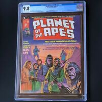 Planet of the Apes #1 (1974) 💥 CGC 9.8 💥 Highest Graded! Marvel Magazine