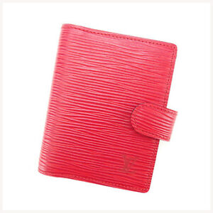 Louis Vuitton Handbook cover Epi Red Woman Authentic Used Y2381