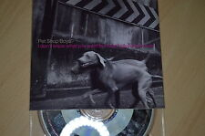 Pet Shop Boys - I don't know what you want but I... CD-Single  (CP1705)