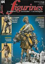 FIGURINES N° 64 / LA GUERRE DE 1870 PAR BILL HORAN - HUSSARD SUEDOIS