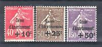 """FRANCE STAMP TIMBRE N°266/68 """" SEMEUSE 4ème SERIE C.A.1930 """" NEUF xx LUXE P631B"""