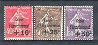 """FRANCE STAMP TIMBRE N° 266/68 """" SEMEUSE 4ème SERIE C.A.1930 """" NEUF xx LUXE P631A"""