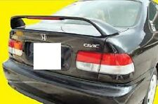 FITS HONDA CIVIC 2DR COUPE 1996-2000 SI STYLE BOLT ON SPOILER W/LIGHT PAINTED