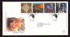29017) Uk 1999 Fdc Millennium, Labour Developments 4v