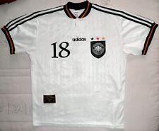 KLINSMANN Adidas EURO 96 camiseta Alemania trikot Deutschland jersey Germany DFB