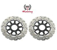 Front Brake Disc Rotors For Ducati Hypermotard 796 1100 EVO SP  Wave Rotors
