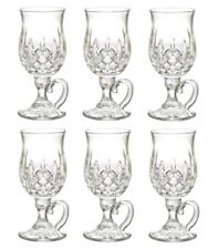 Waterford Lismore Irish Coffee Glass 8-Ounce SET OF SIX