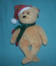 TY BEANIE BEAR' 2003 HOLIDAY BEAR BORN DECEMBER 25. 2003 ''