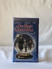 Disney's One Magic Christmas (VHS TAPE) COLLECTOR'S EDITION