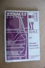 (C50) MANUEL ATELIER SCHÉMAS ÉLECTRIQUES RENAULT ESPACE à partir 14-04-2003