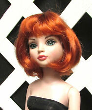 "Doll Wig, Monique ""Hannah"" Sz 5/6 in CARROT RED"