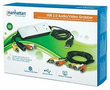 Manhattan Usb Audio/video Grabber - Functions: Video Capturing, Video Editing,