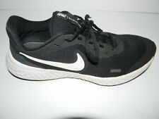 Nike Revolution Running Shoes Black White Gum Men's US Size 6.5