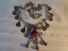 OTTOMAN ANTIQUE JEWELRY SILVER NECKLACE RARE AND GORGEOUS