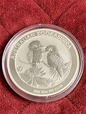 2013 10 oz Silver Kookaburra BU .999 Fine Silver