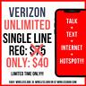 ⭐ Verizon Wireless ⭐ UNLIMITED Plan Service 4G LTE Data Sim Card & HotSpot FREE!