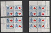 CANADA #429A 5¢ Canada Coat of Arms Matched Set Plate Blocks MNH