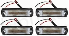 4x 24V Front Side Marker LED Lamp Light for MAN TGA Mercedes Travego (4 LED) NEW