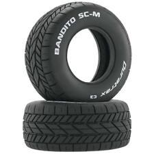 NEW Duratrax Bandito SC-M Oval Tire C3 (2) DTXC3801