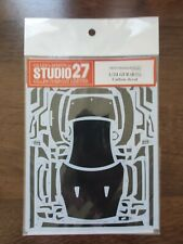 Gilles's Spirits Studio 27: 1/24 Nissan GT-R Carbon Decal