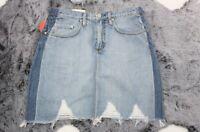 NOBODY DENIM NEW Women's Shaded Harper Skirt - Raw Hem - NWT - Size 30 RRP$159