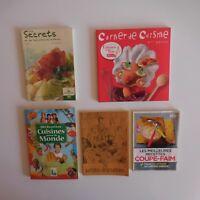 5 Folletos Receta Cuisine Especialidad Apetito Monde Desayuno N3383