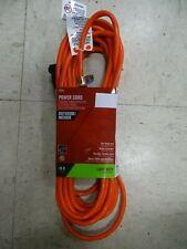 OU162JTW025OG Indoor and Outdoor 25 ft L Orange Extension Cord 16//2 SJTW