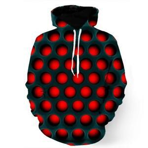 3D Hypnotic Holes SweatshirtHoodie
