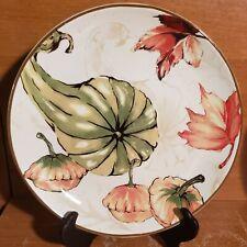 """Better Homes & Gardens HARVEST ORANGE SPICE Salad plate, 8 5/8"""", Excellent"""