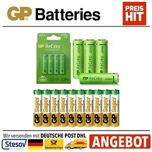 GP Super Alcaline Piles Ou Recyko Batterie Aa LR06