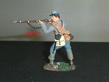 BRITAINS 17863 CONFEDERATE INFANTRY STANDING FIRING METAL TOY SOLDIER FIGURE