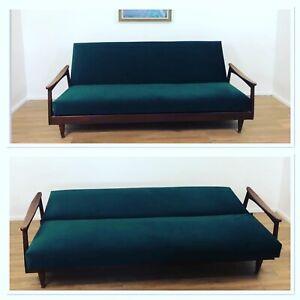 Retro Mid Century Guy Rogers Day Bed / Sofa